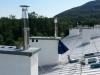 Instalace nerezových komínových nástavců